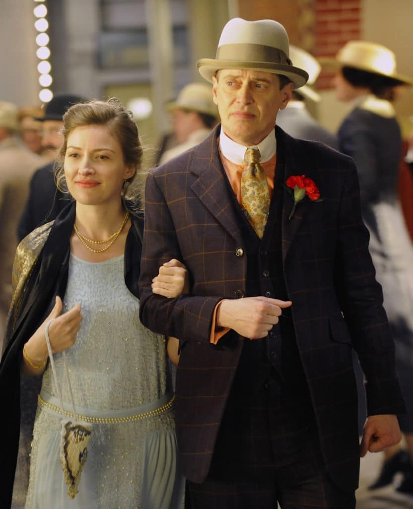 Steve Buscemi et Kelly Macdonald, Boardwalk Empire, 2010.